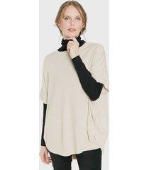 sweater privilege beige - calce oversize