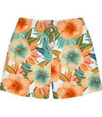 shorts tecido rayon bali bossa - lez a lez