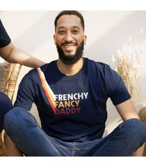 maglietta papà cotone biologico - frenchy fancy daddy