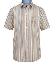 overhemd babista bruin::blauw