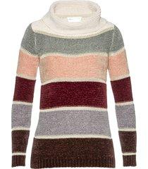 pullover in ciniglia a collo alto (rosa) - bpc selection
