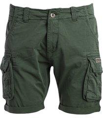 alpha industries alpha industries cotton blend shorts