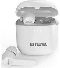 audífonos aw-8 in-ear bluetooth 5.0blanco aiwa