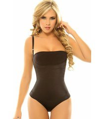 siluet,  thermo-reducer,thong/ panty,body with latex, strong compression, body