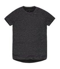 camisetas khelf camiseta masculina alongada moletinho botonê grafite