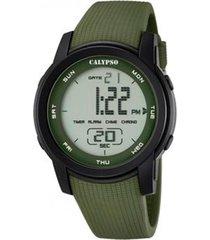 reloj k5698/4 verde calypso hombre color run calypso