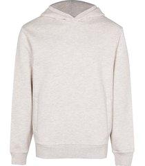 river island mens ecru premium hoodie