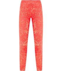calça legging fr sn 7 8 prnt adidas - laranja