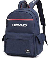 mochila azul head