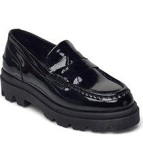 liliana patent loafers låga skor svart pavement