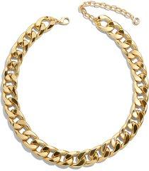 women's baublebar michaela curb chain collar necklace