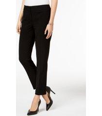 nine west skinny-leg stretch pants
