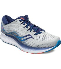 ride iso 2 wide shoes sport shoes running shoes grå saucony