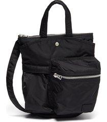 x porter yoshida & co. zip pocket nylon crossbody bag