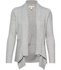 sweaters cardigan stickad tröja cardigan grå esprit casual