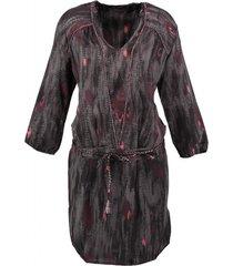 10 feet polyester jurk 3/4 mouw met onderrok