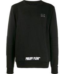 philipp plein statement sweater - black