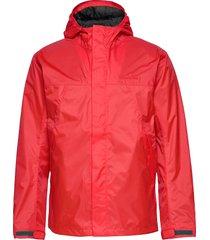 amur usx set outerwear rainwear rain coats röd didriksons