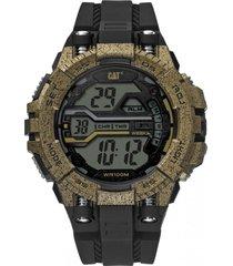 reloj bolt digital dorado cat