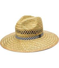 women's volcom throw shade straw hat - green