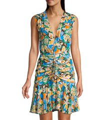 m missoni women's floral mini dress - size 38 (2)