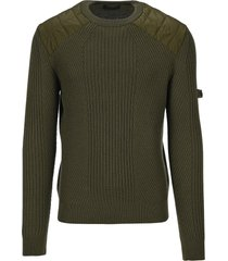 prada ribbed knit wool sweater