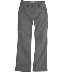 wollen broek, zilver/zwart 46