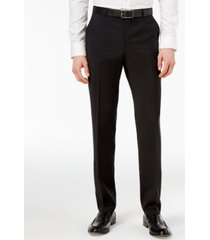 hugo men's slim-fit suit pants