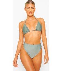essentials mix & match kleine bikini top, salie