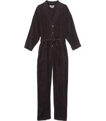 mohawk jumpsuit in cool black