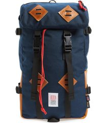 topo designs 'klettersack' backpack - blue