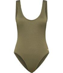 panos thyme sienna swimsuit black forest 36 baddräkt badkläder grön panos emporio