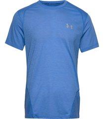 m ua streaker 2.0 shift crew t-shirts short-sleeved blå under armour