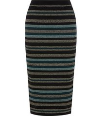 cassie ariel stripe skirt