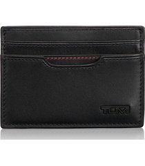 tumi delta id lock(tm) shielded money clip card case in black at nordstrom