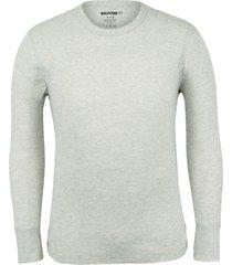 wolverine men's classic medium weight thermal top light grey, size xxl