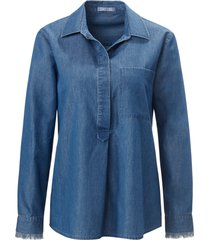 jeansblouse overhemdkraag van day.like denim