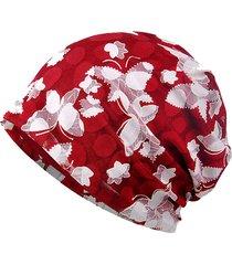 donna beanie in cotone jacquard merletto respirabile all'aperta aria berretto protettivoa da sole