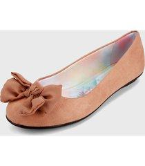 baleta rosa nude moleca