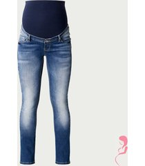 noppies zwangerschapsjeans positiejeans karen straight fit jeans stone wash