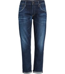 women's citizens of humanity emerson slim boyfriend jeans, size 26 - blue
