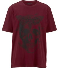 t-shirt men plus rood