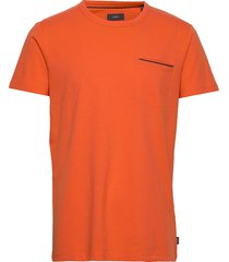 t-shirts t-shirts short-sleeved orange esprit casual
