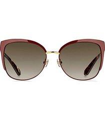 genice 57mm cat eye sunglasses