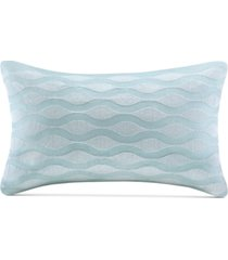 "harbor house maya bay 200-thread count 12"" x 20"" oblong decorative pillow bedding"