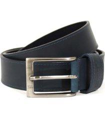 cinturon masculino, marca san polos, color azul. san polos - azul
