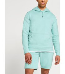 river island mens green ri slim fit hoodie