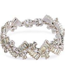diamanté geometric bracelet
