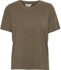 objannie s/s t-shirt noos t-shirts & tops short-sleeved grön object