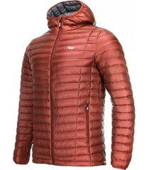 chaqueta plumas hombre peak down hoody cobre lippi